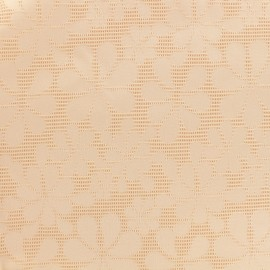 Jacquard fabric Maguy - pink x 10cm