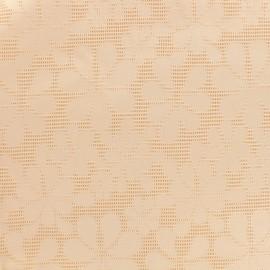 Jacquard fabric Maguy - pink x 10cm