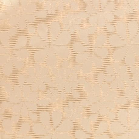 Tissu jacquard Maguy - rose x 10cm