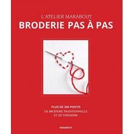 """Livre """"Broderie pas à pas"""""""