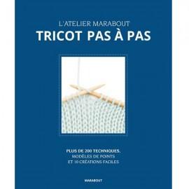 """Book """"Tricot pas à pas"""""""