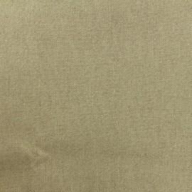 Tissu toile polycoton grande largeur (280cm) - cubex - or x 10cm