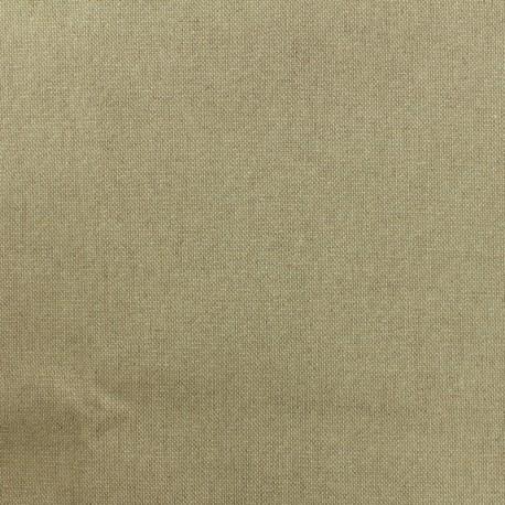 Tissu toile polycoton - cubex - or x 10cm