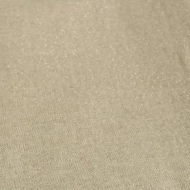 Tissu toile polycoton grande largeur (280cm) - cubex - argent x 10cm