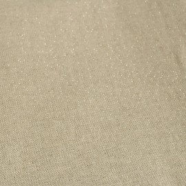 Poly cotton fabric - Cubex - silver x 10cm