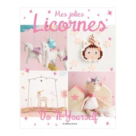 "Livre ""Mes jolies licornes - Do it yourself"""