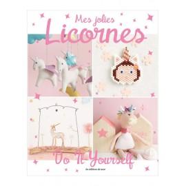 "Livre ""Mes jolies licornes - Do it yourself"""