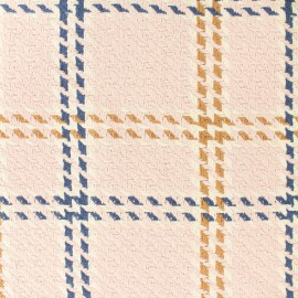 ♥ Coupon 230 cm X 160 cm ♥ Tissu Lainage coton Amsterdam - rose