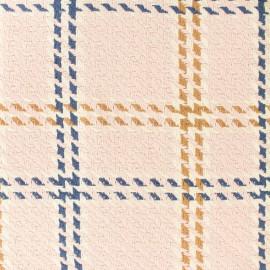 Tissu Lainage coton Amsterdam - rose x 20cm