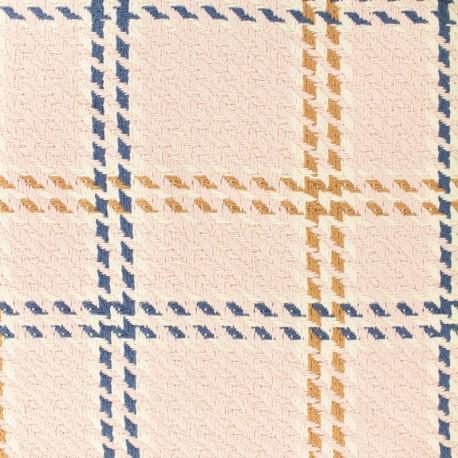 Cotton wool fabric - Amsterdam - pink x 20cm