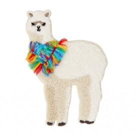 Thermocollant Lama du Pérou - blanc