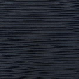 Pleated Tulle Fabric - midnight blue x 50cm