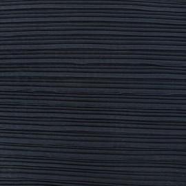 Tissu tulle plissé - bleu de minuit x 50 cm