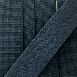 Elastique plat tissé noir 30 mm x 1m