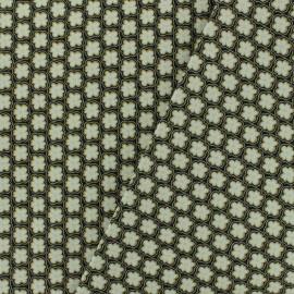 ♥ Coupon 150 cm X 150 cm ♥ Cotton canvas fabric Savigny - vert de chrome