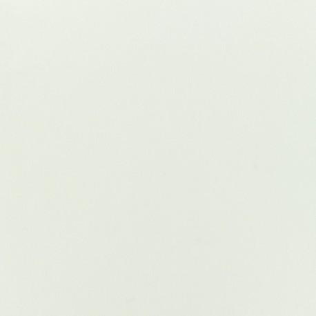 Waffle stitch cotton fabric - Plain - white x 10cm