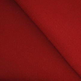 Tissu Feutrine rouge carmin x 10cm