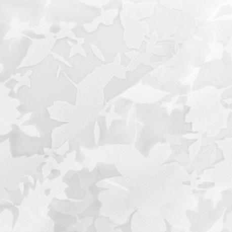 Devoured organza fabric Rachel - white x 30 cm