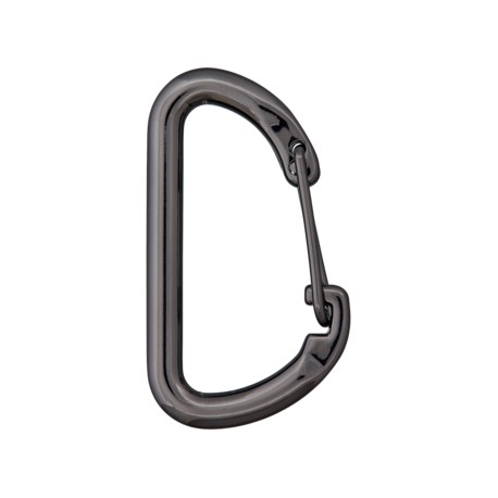 Aventura non-locking carabiner - black
