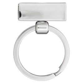Boucle métal Allegro 30 mm - nickel