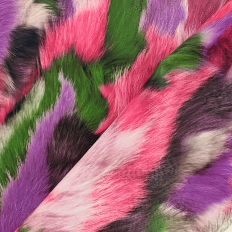 Leather Imitation Plush - pink x 10cm