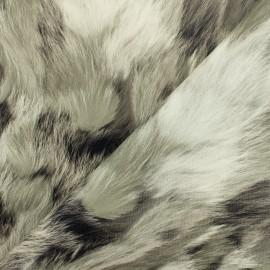 Simili cuir souple Peluche NBL - gris x 10cm