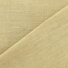 Tissu toile de jute - naturel clair x 10cm