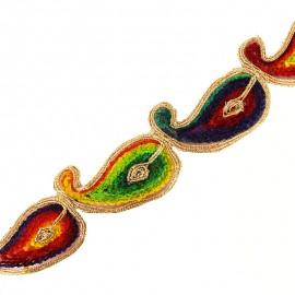 50 mm kaarnivaal India guipure - rainbow x 53cm