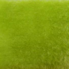 ♥ Coupon 260 cm X 150 cm ♥ Fourrure ours vert pomme