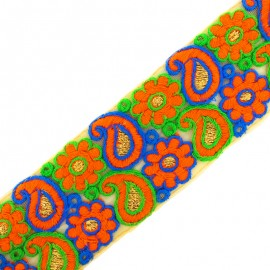 65 mm Nagpur India galon - orange x 50cm