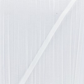 4 mm silky aspect ribbon - white x 1m