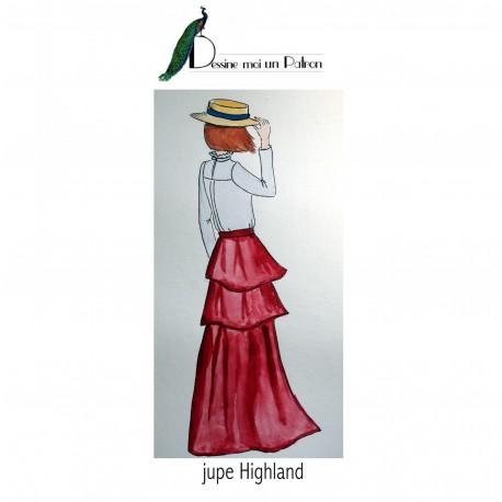 Sewing pattern Dessine moi un patron Skirt - Highland