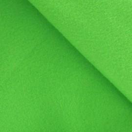 Tissu Feutrine vert anis x 10cm