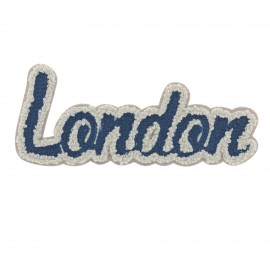 Thermocollant London collection Streetart - gris/bleu