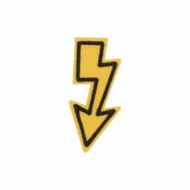 Thermocollant Eclair fléché - jaune