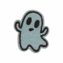 Fantômas iron-on - blue jean