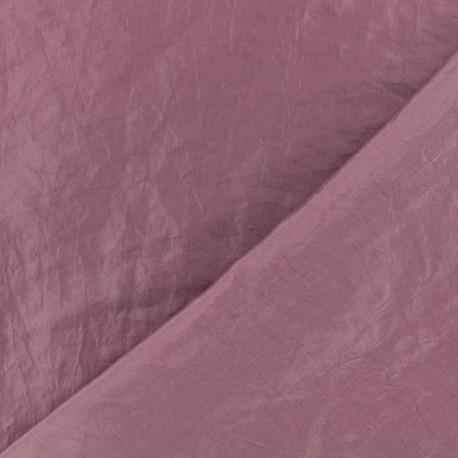 Tissu taffetas uni - mauve x 10cm
