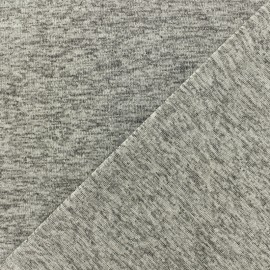 Lurex Stitch Fabric Party - silver x 10cm