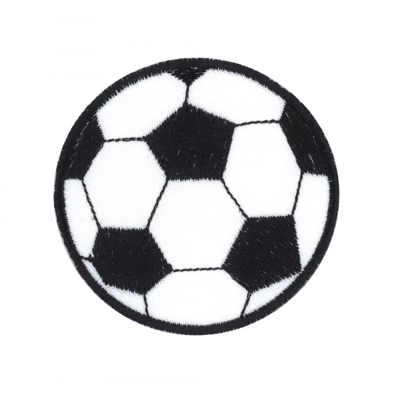 Ruban gros grain blanc Ballon de foot Football de 22 mm vendu au mètre