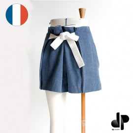 Belted short sewing pattern - dp's by Dp Studio Le 3002