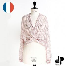 Patron Femme dp's by DP Studio Blouse nouée - Le 5001