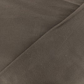 Flannel Fabric - brown x 10 cm