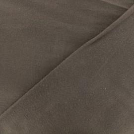 Tissu Flanelle - brun x 10cm