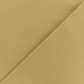 Tissu toile coton oxford uni - marron glacé x 10cm