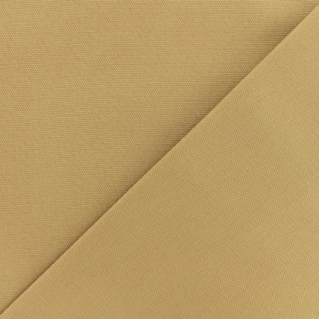 Oxford plain cotton canvas - brown x 10cm