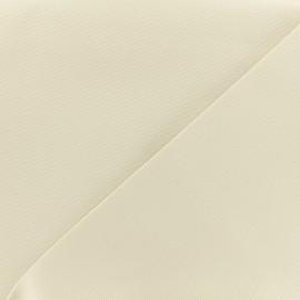 Tissu toile coton oxford uni - écru x 10cm