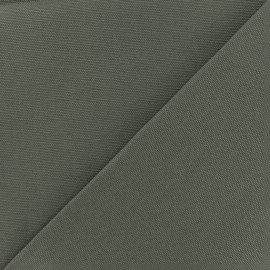 Tissu toile coton oxford uni - gris x 10cm