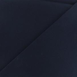 Tissu toile coton oxford uni - marine x 10cm
