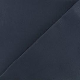 Tissu toile coton oxford uni - denim x 10cm