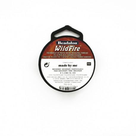 Fil nylon Wildfire 0.15 mm 45 m - blanc